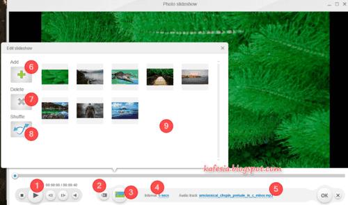 cara mudah membuat video dari foto dengan musik di windows