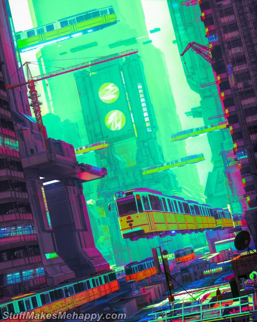 Beeple's World: Unusual Cyberpunk Artwork to Blow Your Mind