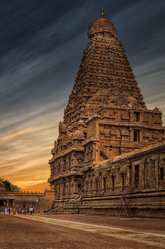 the tanjore temple is a very famous temple in the