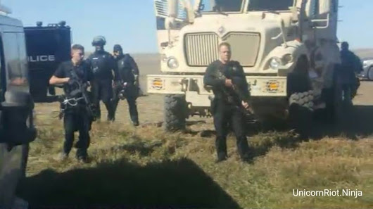 Standing Rock Breaking News Surrounded by Police: Wed. Sept. 28, 2016
