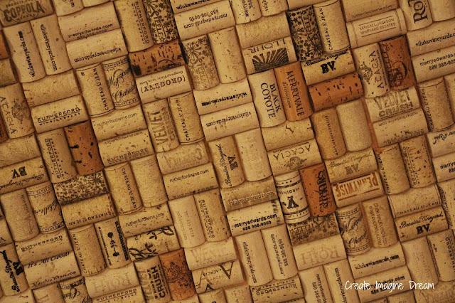 Wine cork bar