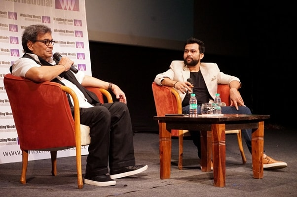 'Humble, honest, highly spirited Director of the super-hit film Sultan, Ali Abbas Zafar, delivers an impressive masterclass to 300 students at Whistling Woods International'