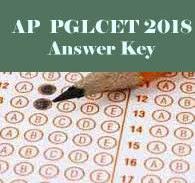 PGLCET Answer Key 2018, PGLCET 2018 Answer Key, AP PGLCET Answer Key, AP PGLCET Key