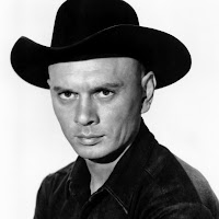 Actor Yul Brynner in The Magnificent Seven
