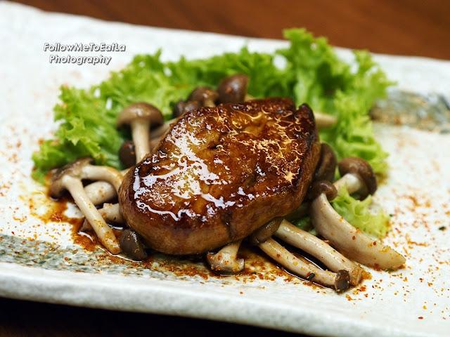 Foie Gras Teriyaki RM 48 (Half Portion) RM 88 (Full Portion)