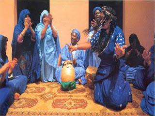 نمادج من  نقش  الحناء الصحراوية المغربية