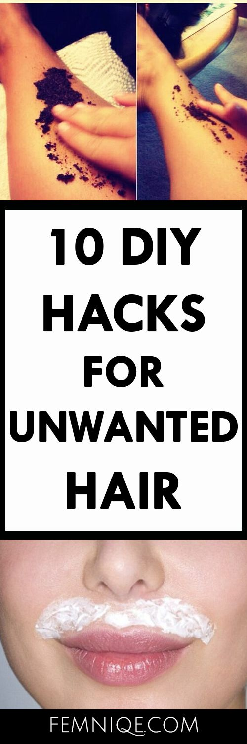 How To Get Rid of Unwanted Hair (10 Natural Hacks)