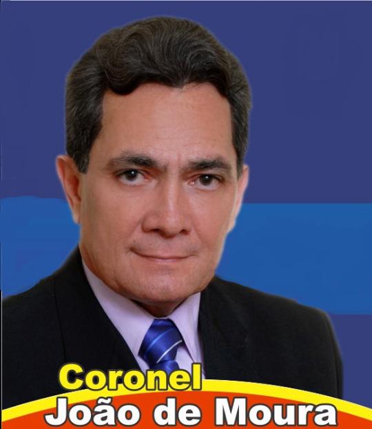 SAUDOSO CORONEL JOÃO MOURA