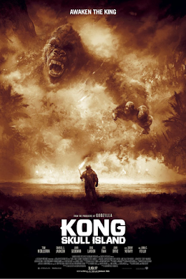 "Kong: Skull Island ""Awaken The King"" Screen Print by Karl Fitzgerald x Bottleneck Gallery"