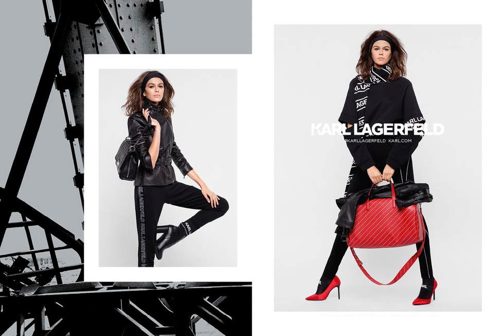 Kaia Gerber Stars in Karl Lagerfeld's FW18 Campaign