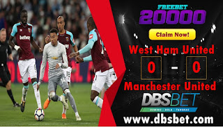westham 0-0 manchester united 11 mei 2018
