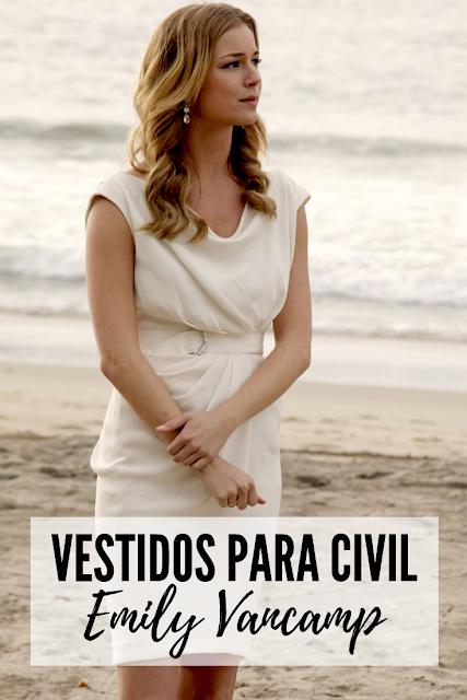 vestido branco casamento civil Emily Thorne Revenge