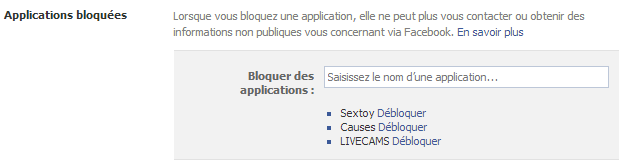 facebook bloquer une personne