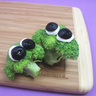 Googly Eyed Veggies