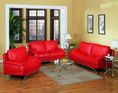 Red sofa, would color the walls? 5