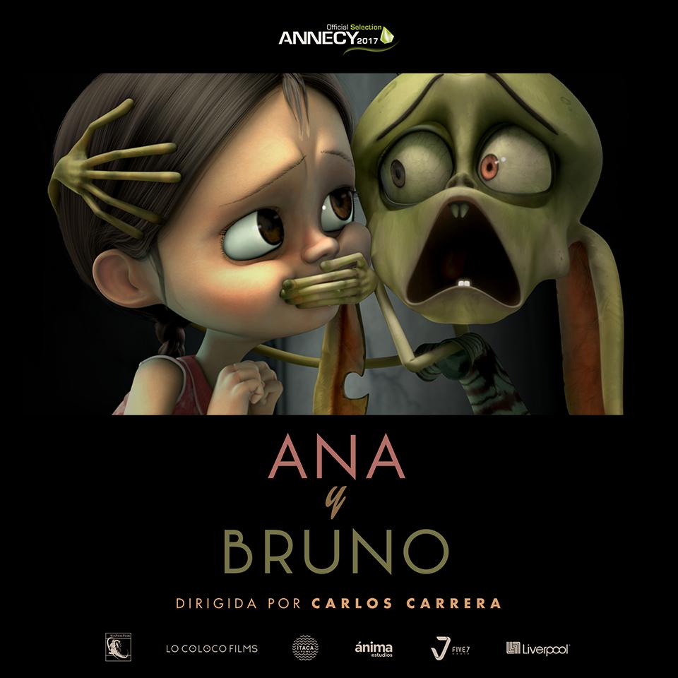 Animación Ana y BruNo estrenará en el marco de @annecyfestival ...