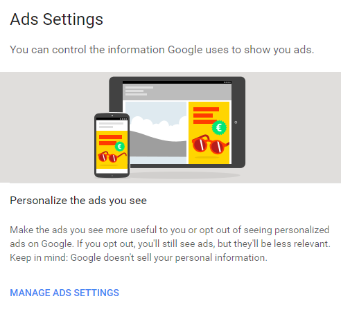 Ads Settings
