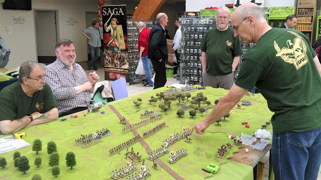 Falkirk District Wargames Club demonstration game