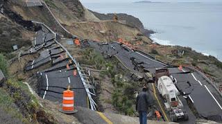4 sismos  ocurrieron entre el sur de La falla Cascadia y el norte de San Andreas. En 2 horas.