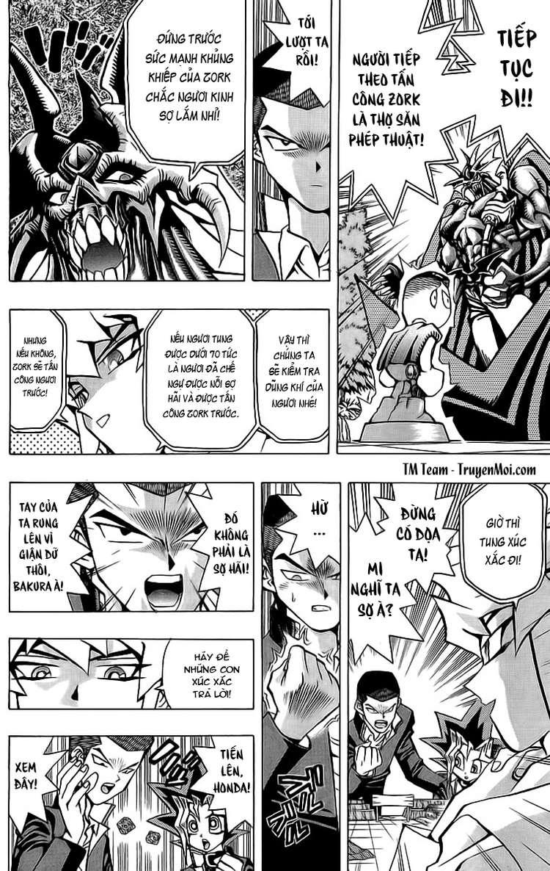 YUGI-OH! chap 53 - phần iv: trò chơi nhập vai trang 9