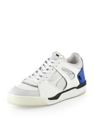 Whisper white move femme low-top sneaker, $153.50 by Puma x Alexander McQueen