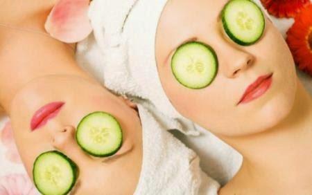 apa saja manfaat mentimun untuk kecamntikan wajah