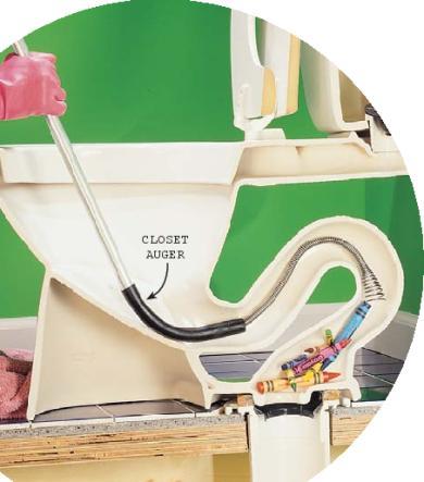 Auger Gear Image Auger A Toilet