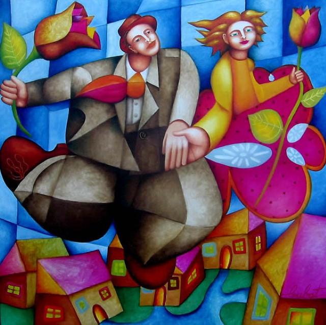 Philippe Loubat. Современный французский художник 15