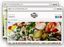 Online Business Restaurant Web Design