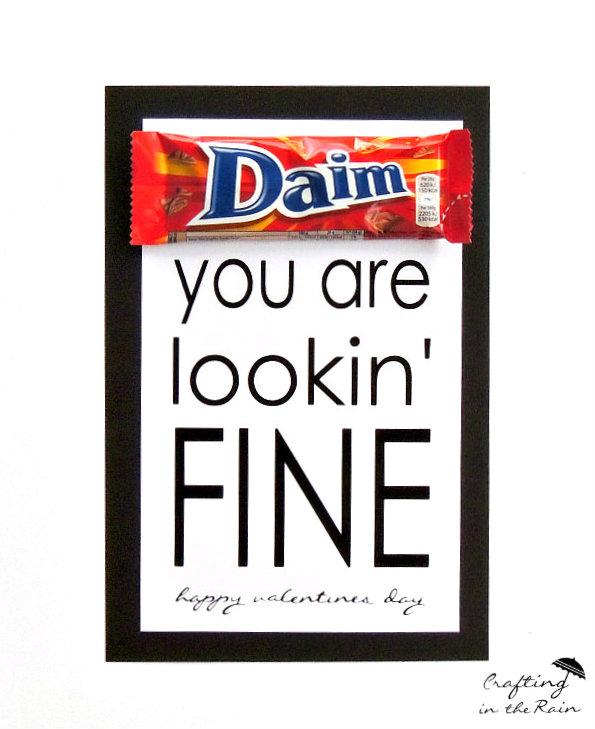 funny valentine printable