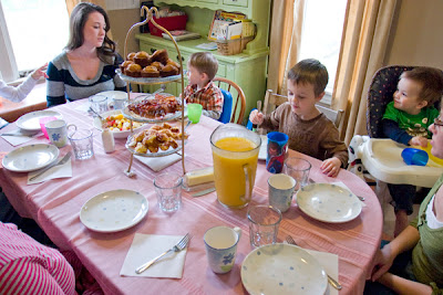 Annual Easter Brunch-The Unlikely Homeschool