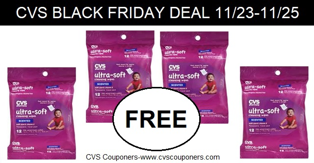 cvs couponers free cvs health ultra soft cleansing wipes at cvs