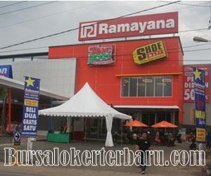 Lowongan Kerja Terbaru di PT Ramayana Lestari Sentosa Tbk - Sales Promotion Girl (SPG)