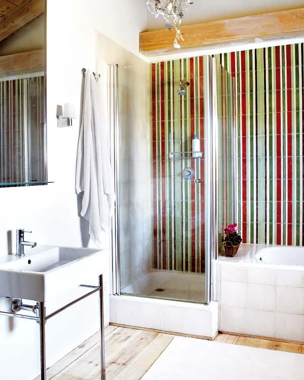 Dise o de ba os con ducha ba os y muebles for Diseno de banos pequenos con ducha