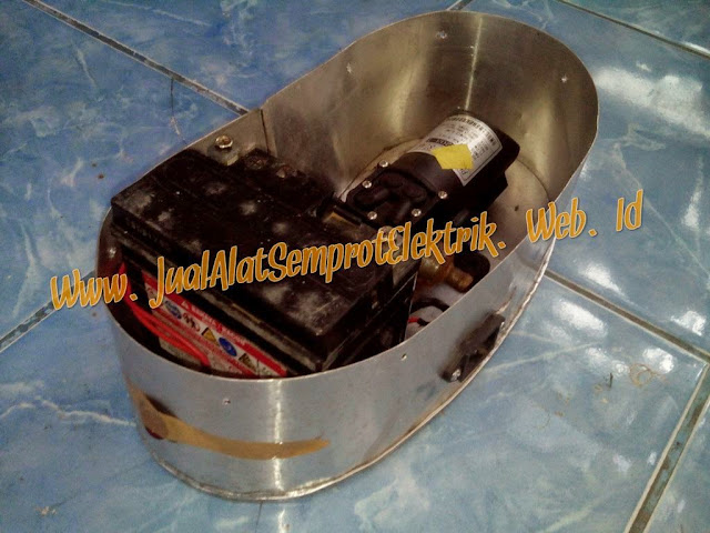 Modifikasi Tanki Pompa Manual Menjadi Elektrik