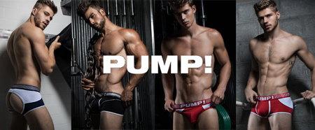 男性下着 PUMP! パンプ