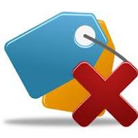 حذف الاضافات التي لاتوجد بها كلمة حذف على بلوجر