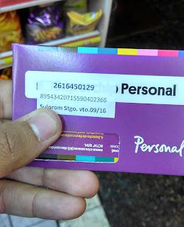 Chip de internet Personal em Mendoza