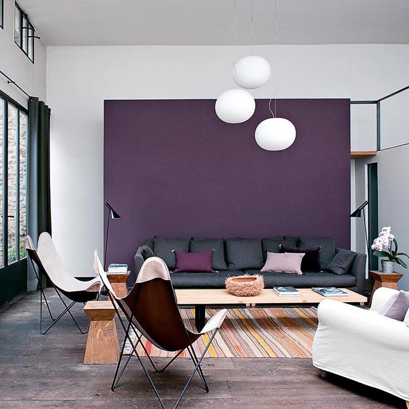 Ultra Violet nel soggiorno