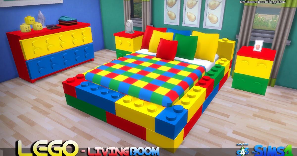 Lunararc Sims Lego Bedroom Set