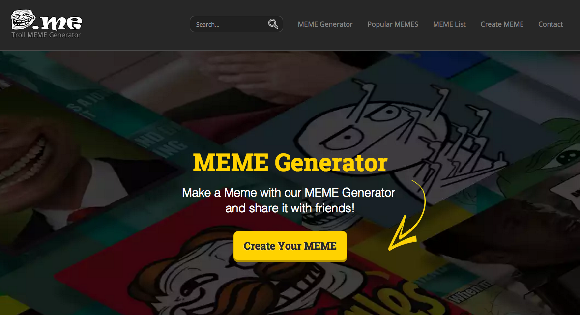 how to use meme generator