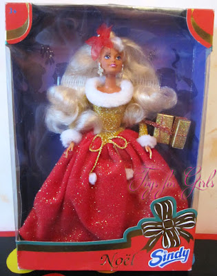 Sindy Noel Hasbro нарядная кукла Синди 1996 года