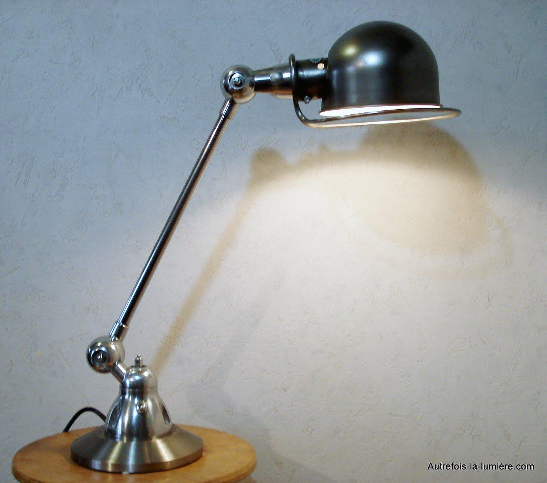 lampe chevet industriel. Black Bedroom Furniture Sets. Home Design Ideas
