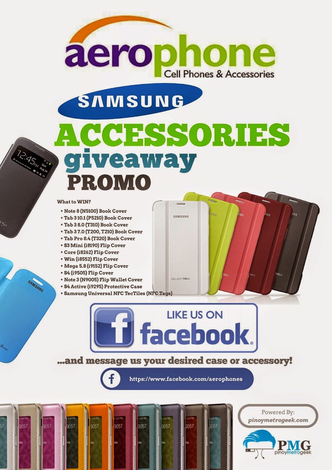 Aerophone Cebu Samsung Accessory Promo Week 4
