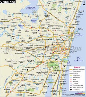 Vellore Map