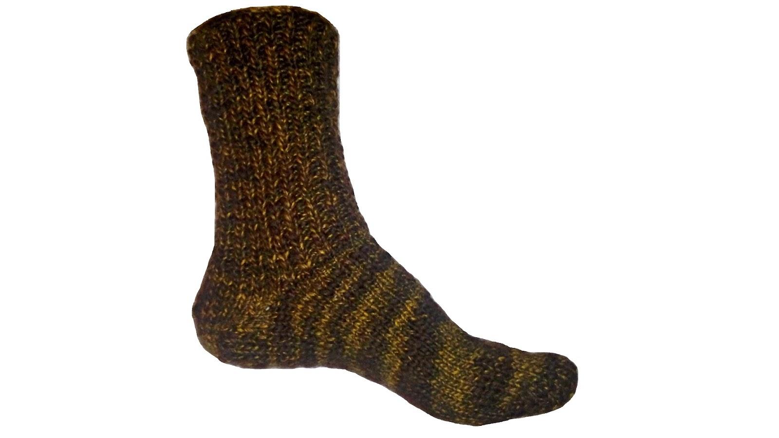 2 toe-up socks