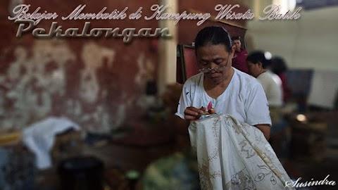 Belajar Membatik di Kampung Wisata Batik Pekalongan