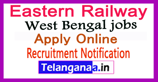 Eastern Railway Recruitment Notification 2017 Apply