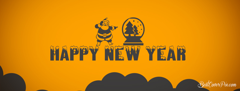 Happy New Year 2020 Wishes Images for Facebook Cover Photo