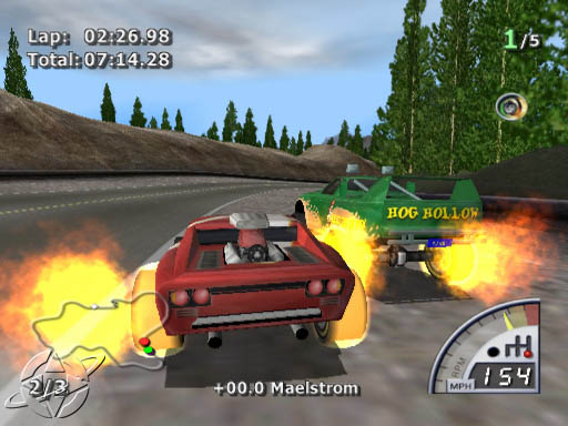 Rumble Racing PS2 GAME ISO Gameplay 1